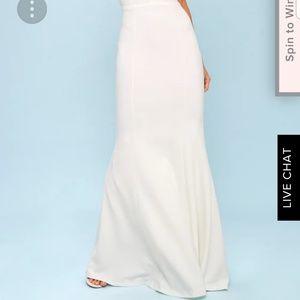 2e5dd9e282b Lulu s Dresses - Lulus Heaven and Earth white maxi dress - wedding